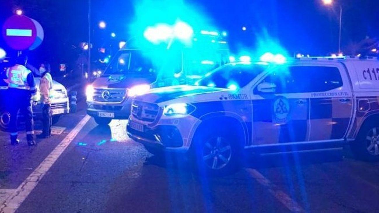 Muere un motorista tras caer de su moto y ser arrollado por un turismo en la A-6