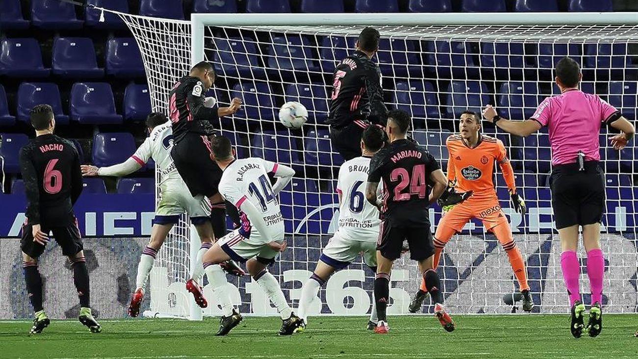 Partido Real Madrid contra Valladolid