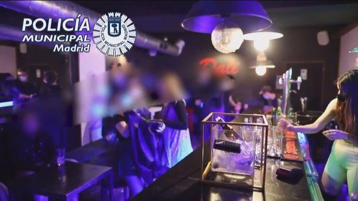 Sancionadas 37 personas por participar en una fiesta ilegal en un local de Lavapiés