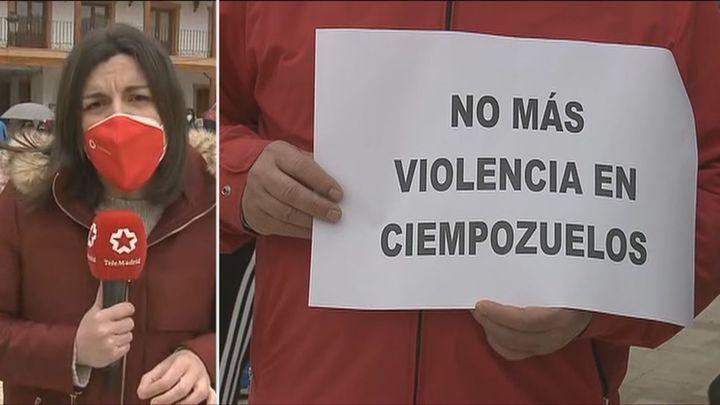 Los vecinos de Ciempozuelos piden justicia tras la agresión a uno de sus vecinos por el uso de la  mascarilla