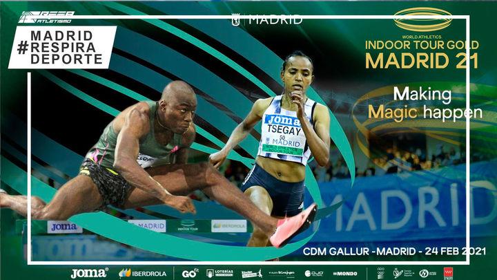 Las grandes estrellas del atletismo mundial se citan en el meeting de Madrid