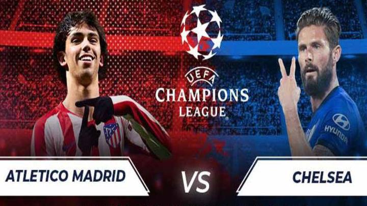 El Atlético, frente al Chelsea y la adversidad