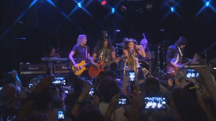 Aerosmith pospone su concierto en el Wanda Metropolitano a 2022