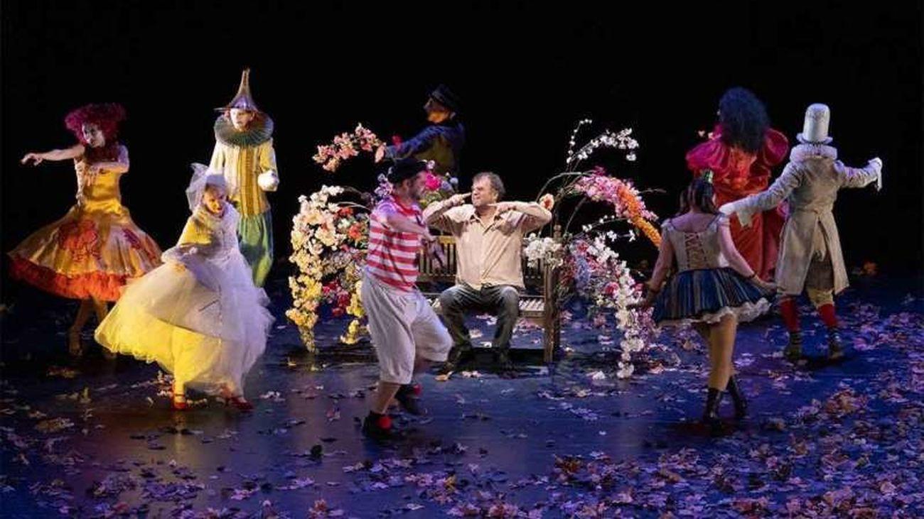 Actores de la obra 'La gioia' de Pippo Delbono