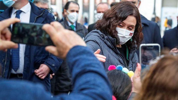 """Ayuso dice que preside """"una fusión de facto en Madrid"""" entre PP y Cs; Aguado defiende que Ciudadanos """"no está en venta"""""""