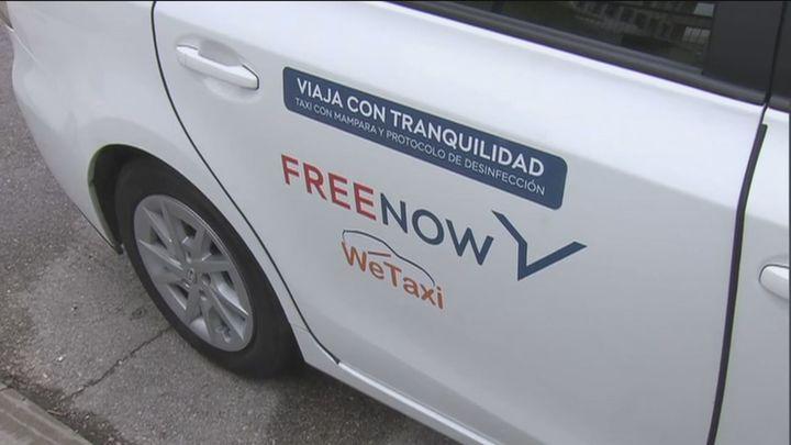 Los primeros taxis con bucle magnético para personas con problemas de audición ya circulan en Madrid