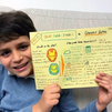 Gonzalo, un niño madrileño y también superhéroe con ideas contra la pérdida auditiva
