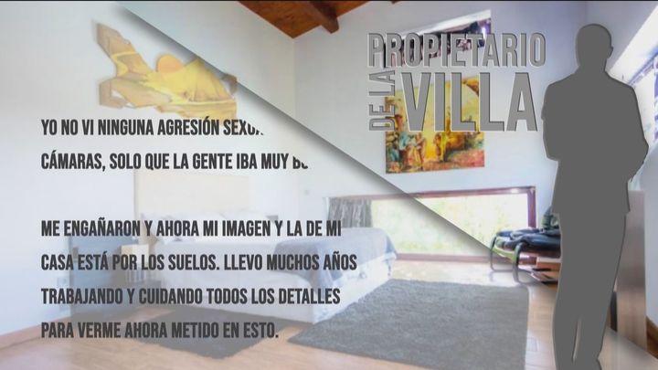 """El dueño de la casa de Colmenarejo: """"Me engañaron y ahora mi imagen está dañada"""""""