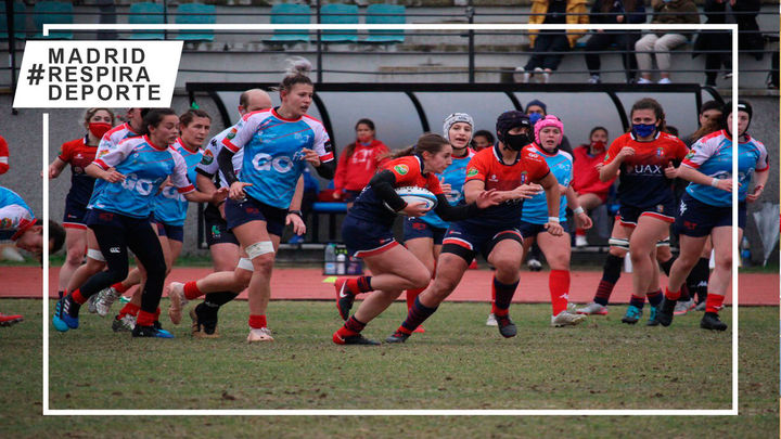 Majadahonda se coloca líder invicto de la liga femenina de rugby