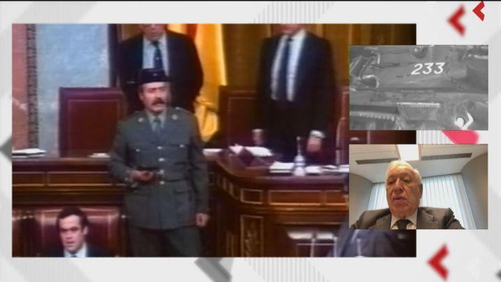 Los exdiputados Margallo y Barranco recuerdan el 23-F como una noche de miedos