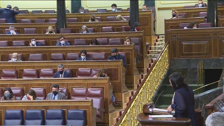El Congreso mantiene la inviolabilidad del rey con el apoyo del PSOE, PP, Vox y Cs