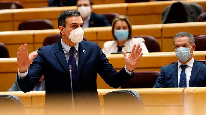 """Sánchez """"satisfecho con el funcionamiento del gobierno de coalición"""""""