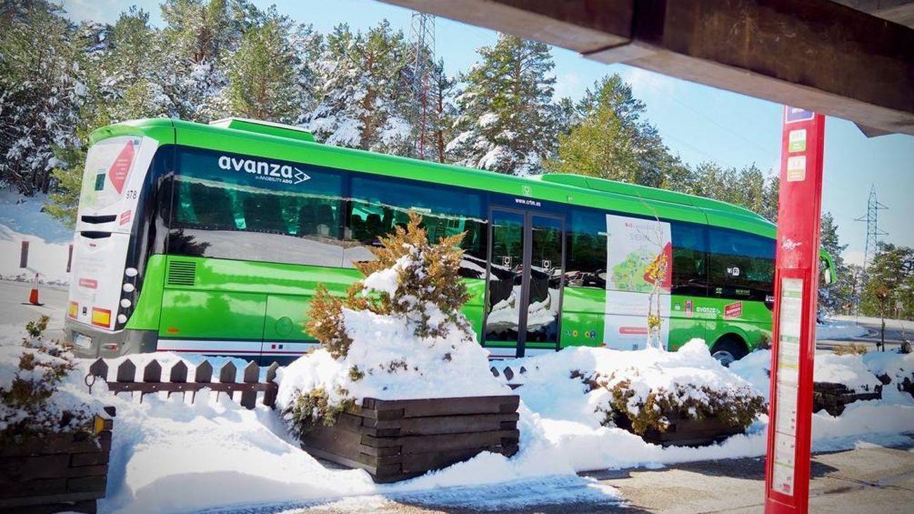 Presentación del autobús lanzadera a Cotos y Valdesquí