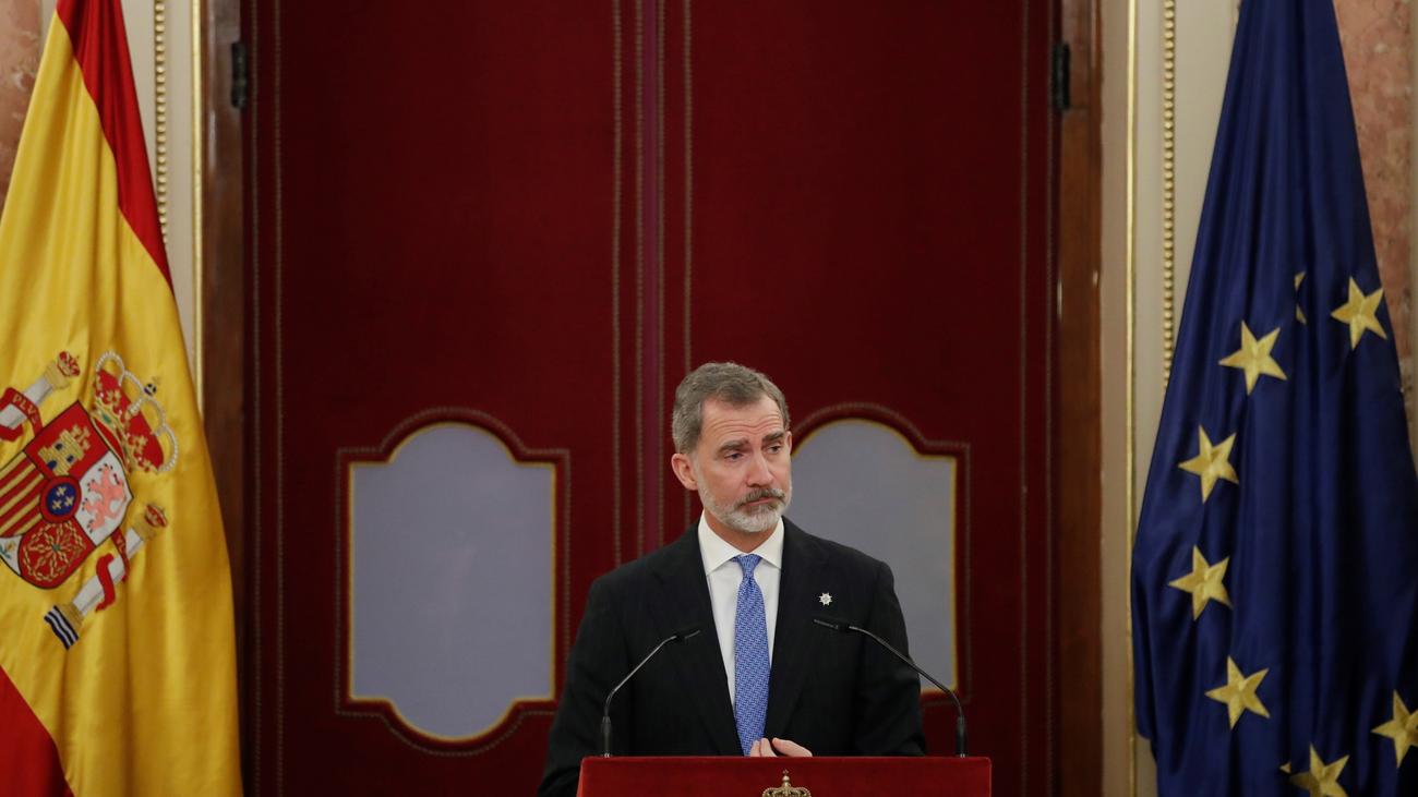 El rey Felipe VI ensalza la firmeza de Juan Carlos I en el 23-F y llama a proteger y preservar la democracia