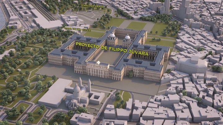 Un palacio en Madrid más grande que el de Versalles