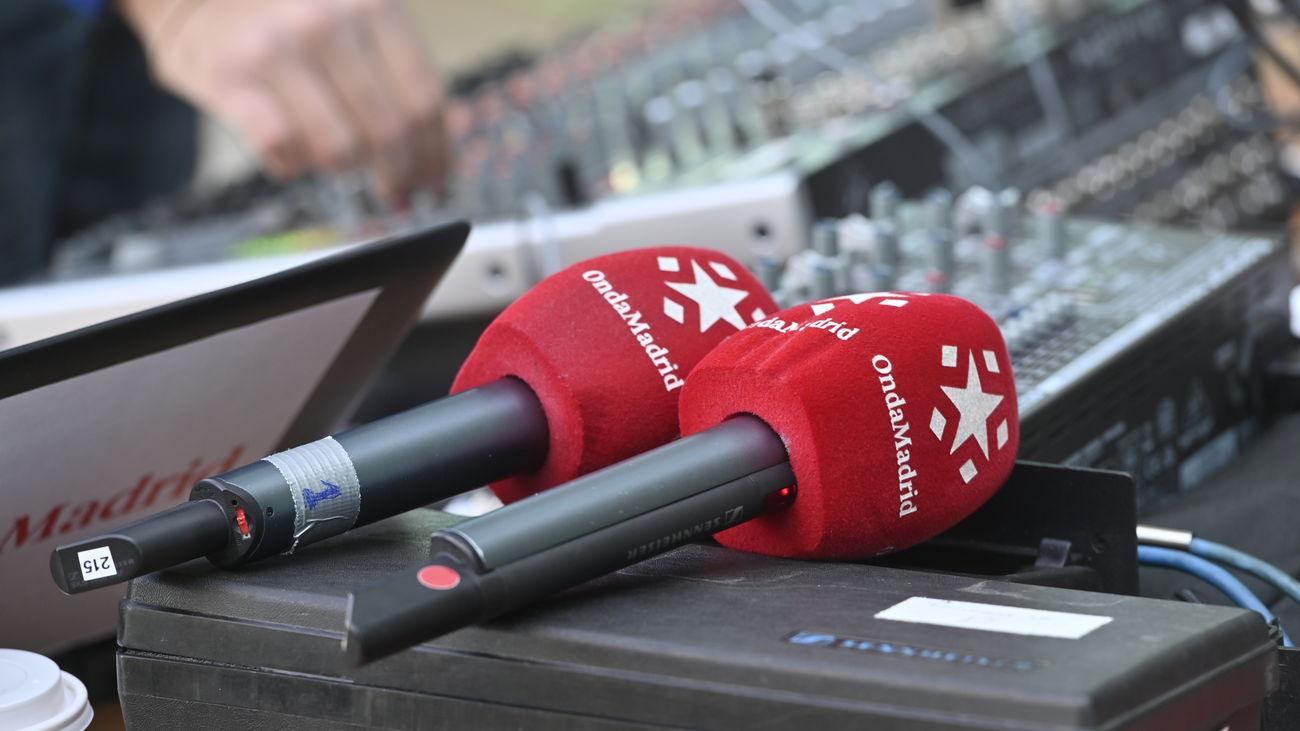 Micrófonos de Onda Madrid.