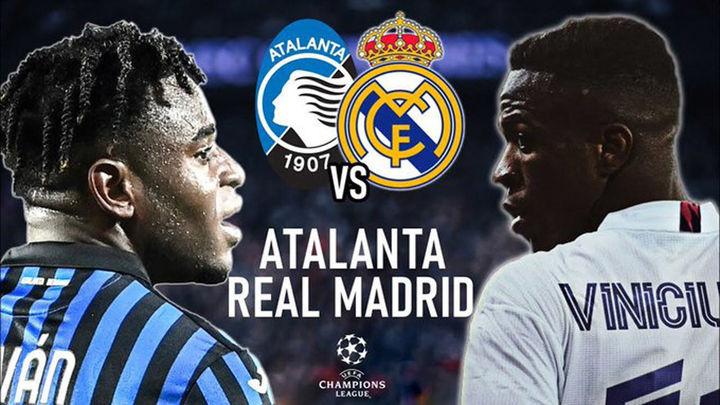 El Real Madrid ante un Atalanta vertical y goleador