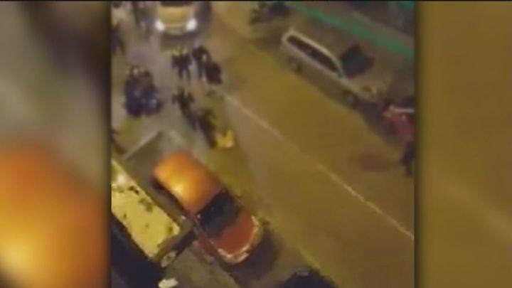 Detenidos dos jóvenes de 15 y 18 años en una reyerta en Villaverde