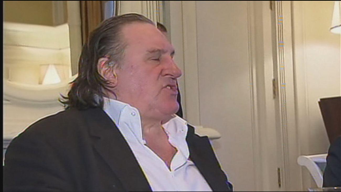 El actor Gérard Depardieu, imputado por violaciones y agresiones sexuales tras la denuncia de una actriz