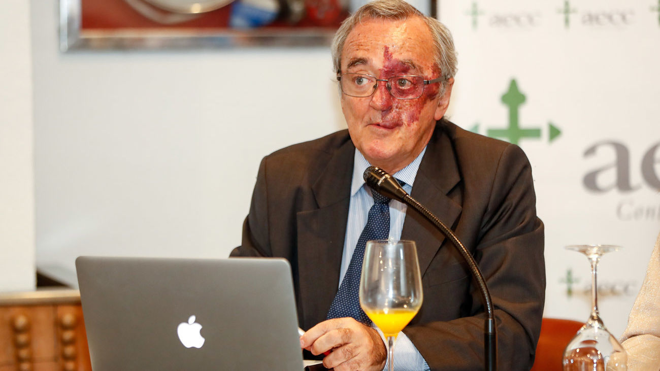 Mariano Barbacid, durante la presentación de los prometedores resultados de una investigación contra el cáncer de páncreas