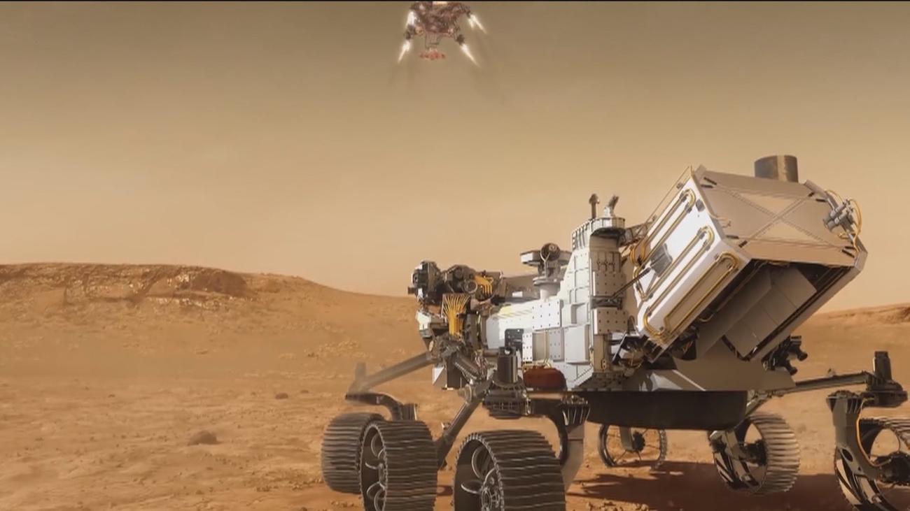 El ser humano aterriza en Marte