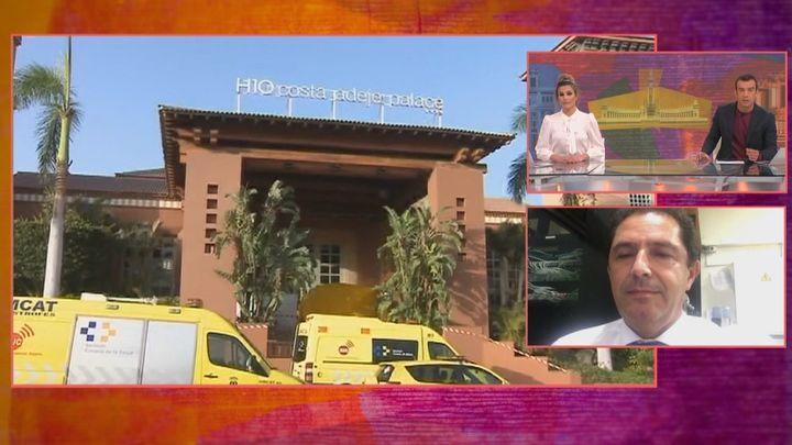 Se cumple un año del primer confinamiento en España en el hotel de Tenerife