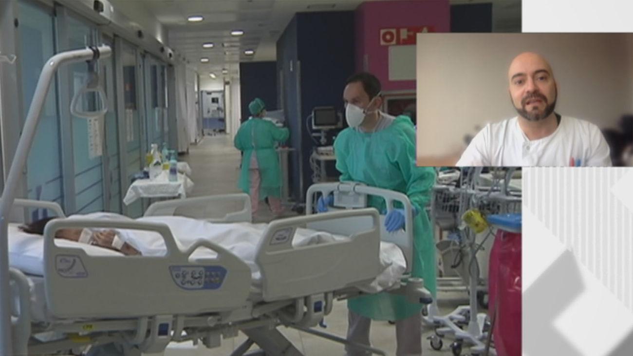 """El doctor La Calle atendió al primer paciente Covid en Madrid: """"No nos imaginábamos algo tan tremendo"""""""