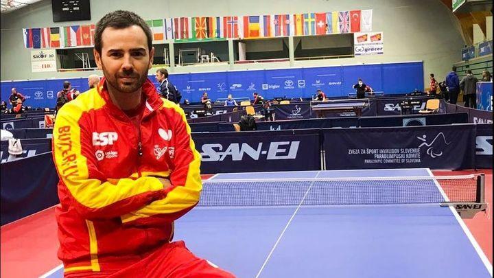 Álvaro Valera, un número uno del tenis de mesa paralímpico