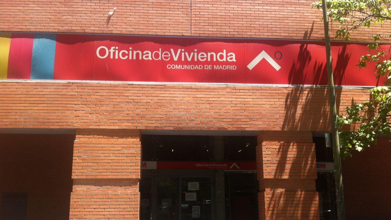 Oficina del IVIMA en la Avenida de Asturias de Madrid