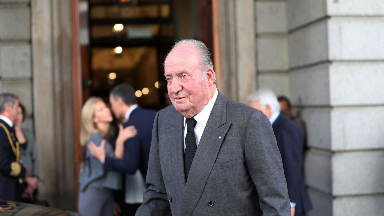 El Rey Don Juan Carlos en una foto de archivo