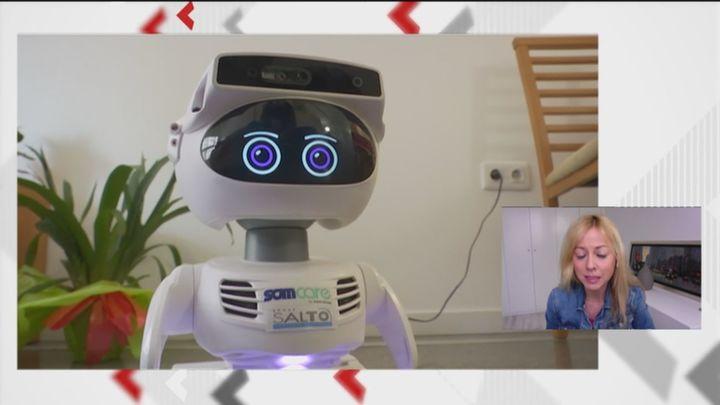 Robots de compañía para mayores que también son cuidadores