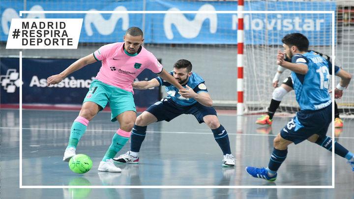 3-3. Movistar Inter empata con el Barça cuando tenía la victoria encarrilada