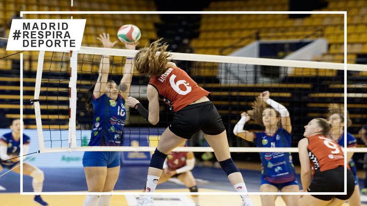 Un gran Voleibol Alcobendas logra el billete para semifinales de la Copa de la Reina
