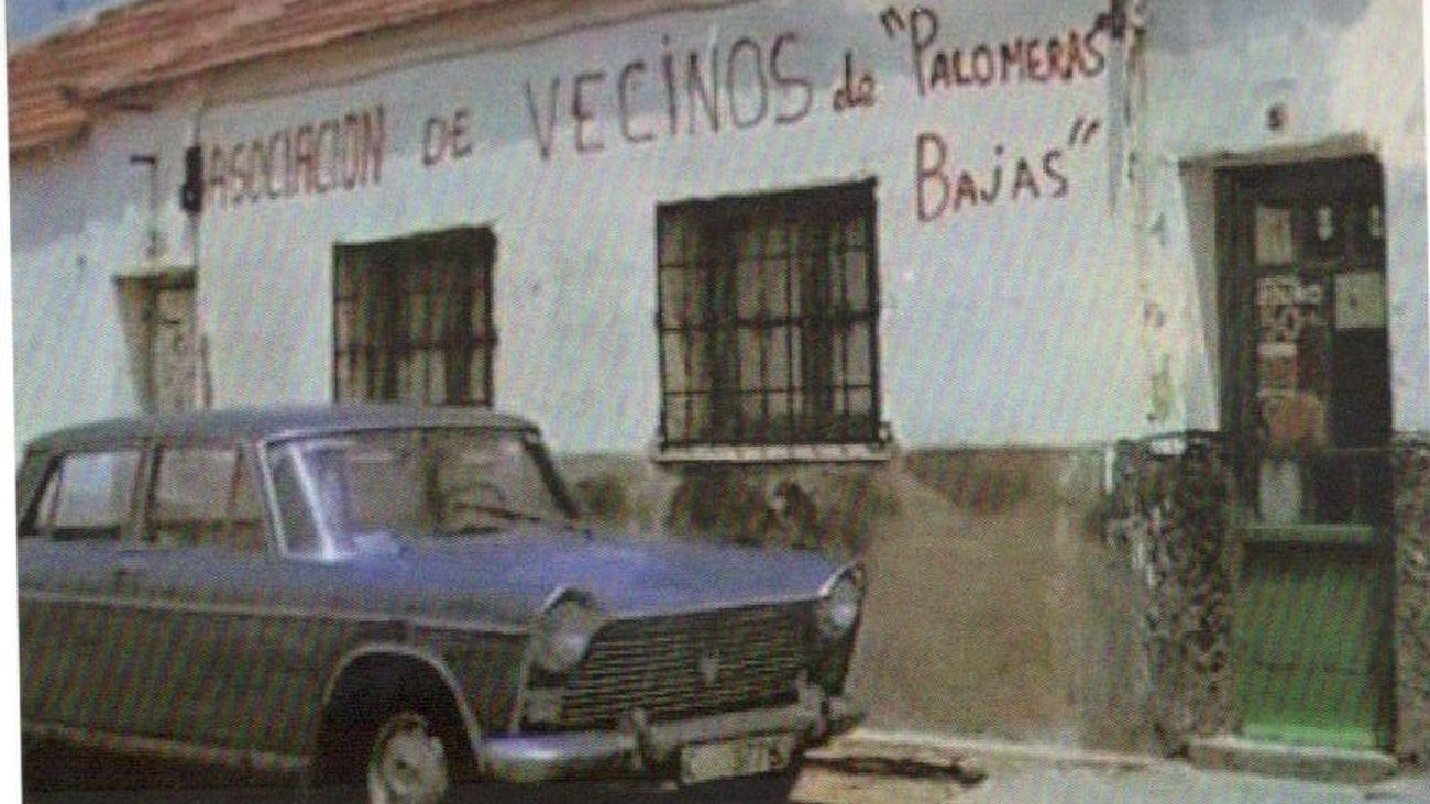 La Asociación de Vecinos de Palomeras Bajas, en Vallecas, en los años 60