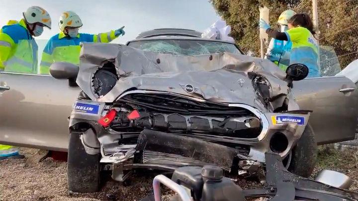 Fallece un joven de 18 años tras un accidente de tráfico en el Circuito del Jarama