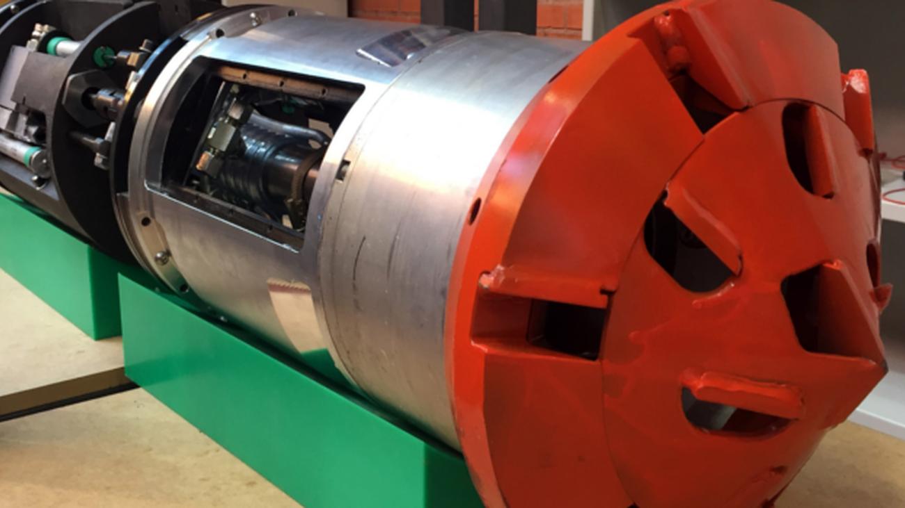 El robot subterráneo inteligente diseñado por la Universidad Carlos III de Madrid