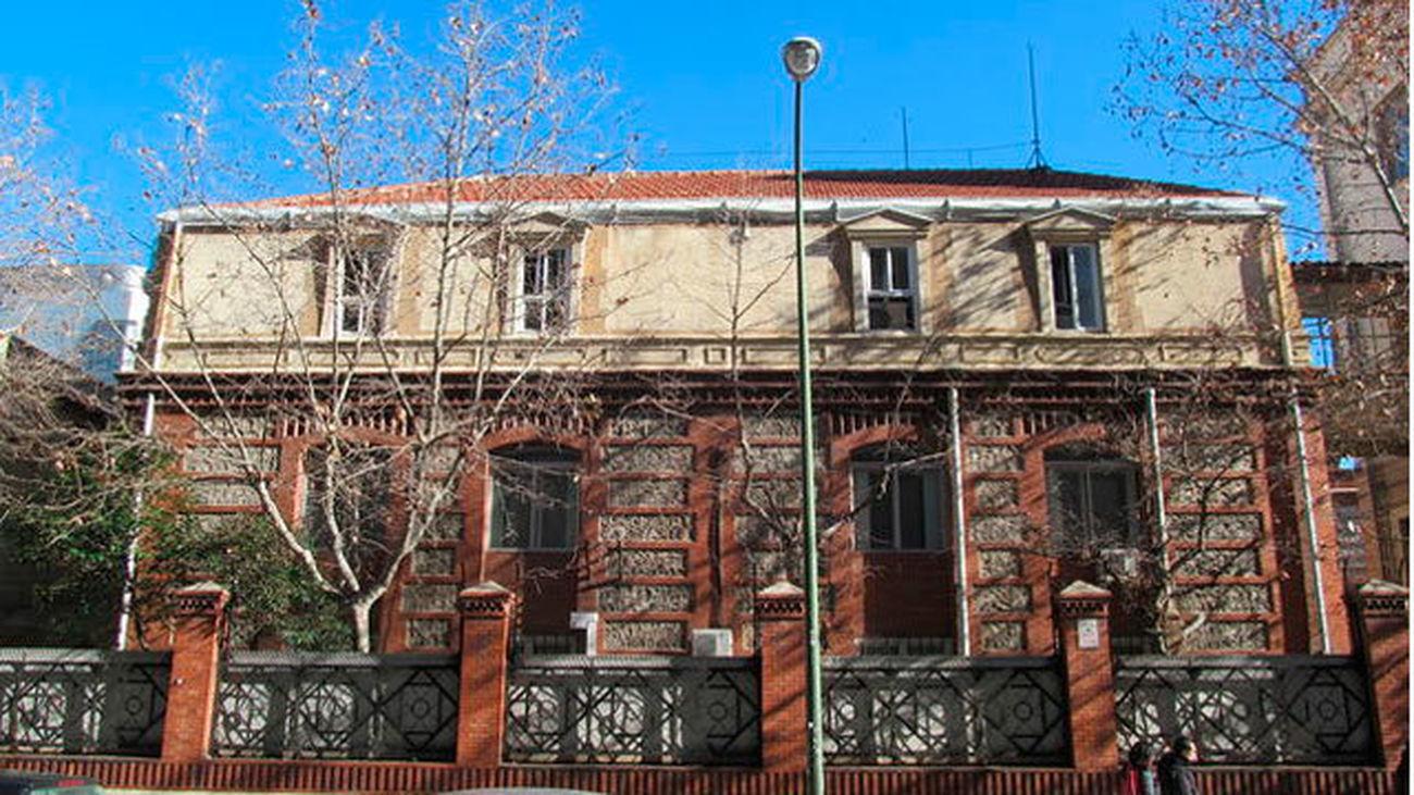 Edificio desaparecido que albergaba el Taller de Precisión de Artillería
