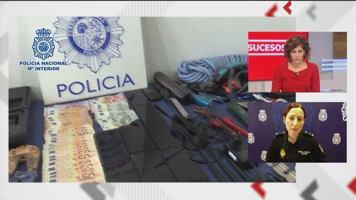 Cae una banda itinerante de ladrones de lujo que asaltaron la tienda de Chanel en la 'Milla de Oro' de Madrid