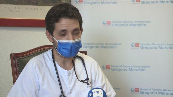 Médico del Marañón: Vacúnense y tengan paciencia, hay luz al final del túnel