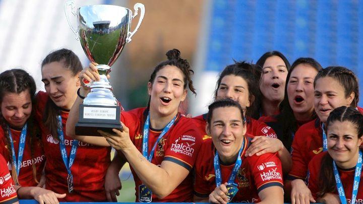 Las 'Leonas', campeonas de Europa de rugby