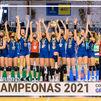 Voleibol Alcobendas, campeón de la Copa de la Reina por primera vez en su historia