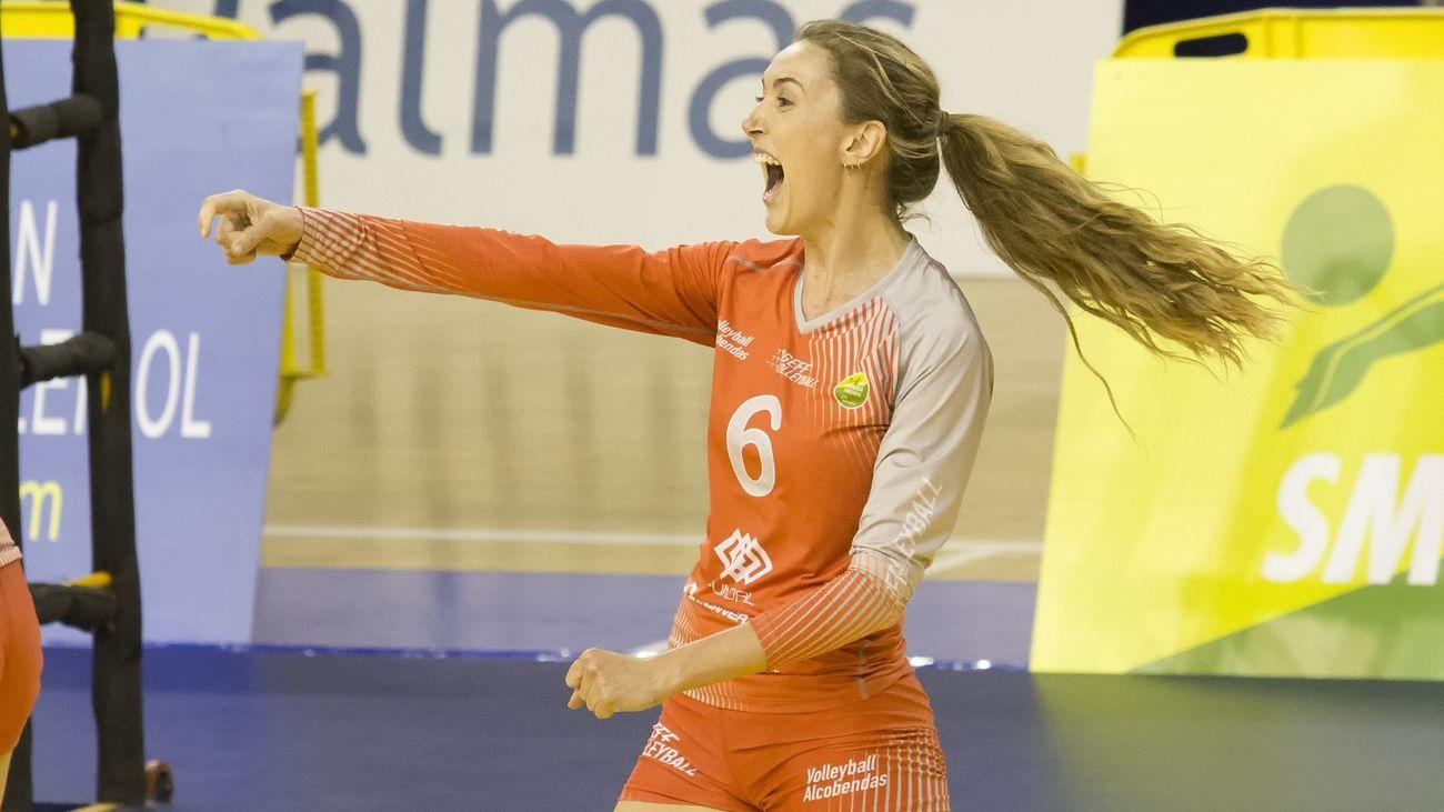 Sofía Elizaga celebra la Copa de la Reina de Voleibol en Onda Madrid