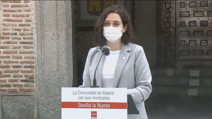 Ayuso pide a la Delegación del Gobierno que no autorice concentraciones el 8-M sin el visto bueno de Salud Pública