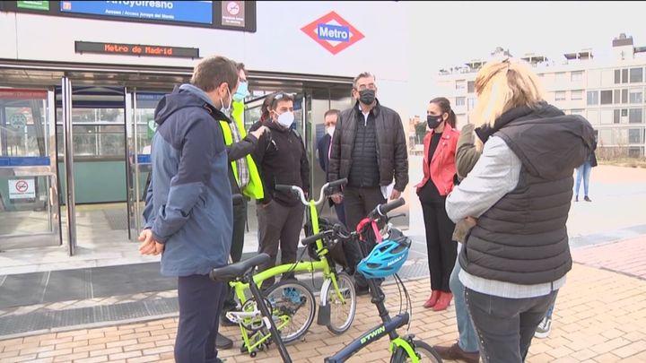 La Comunidad de Madrid estrena dos  nuevas rutas verdes accesibles en transporte público