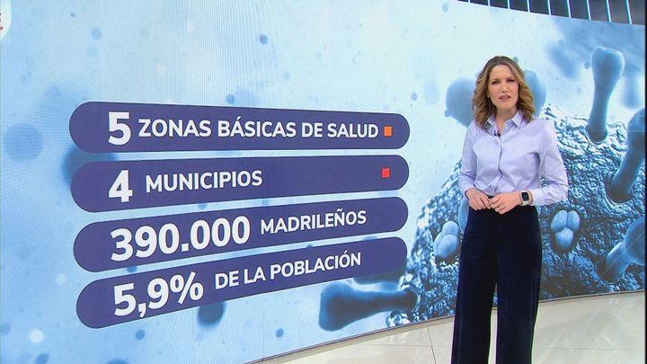 La zona de Marie Curie de Leganés se suma a las  áreas con restricciones