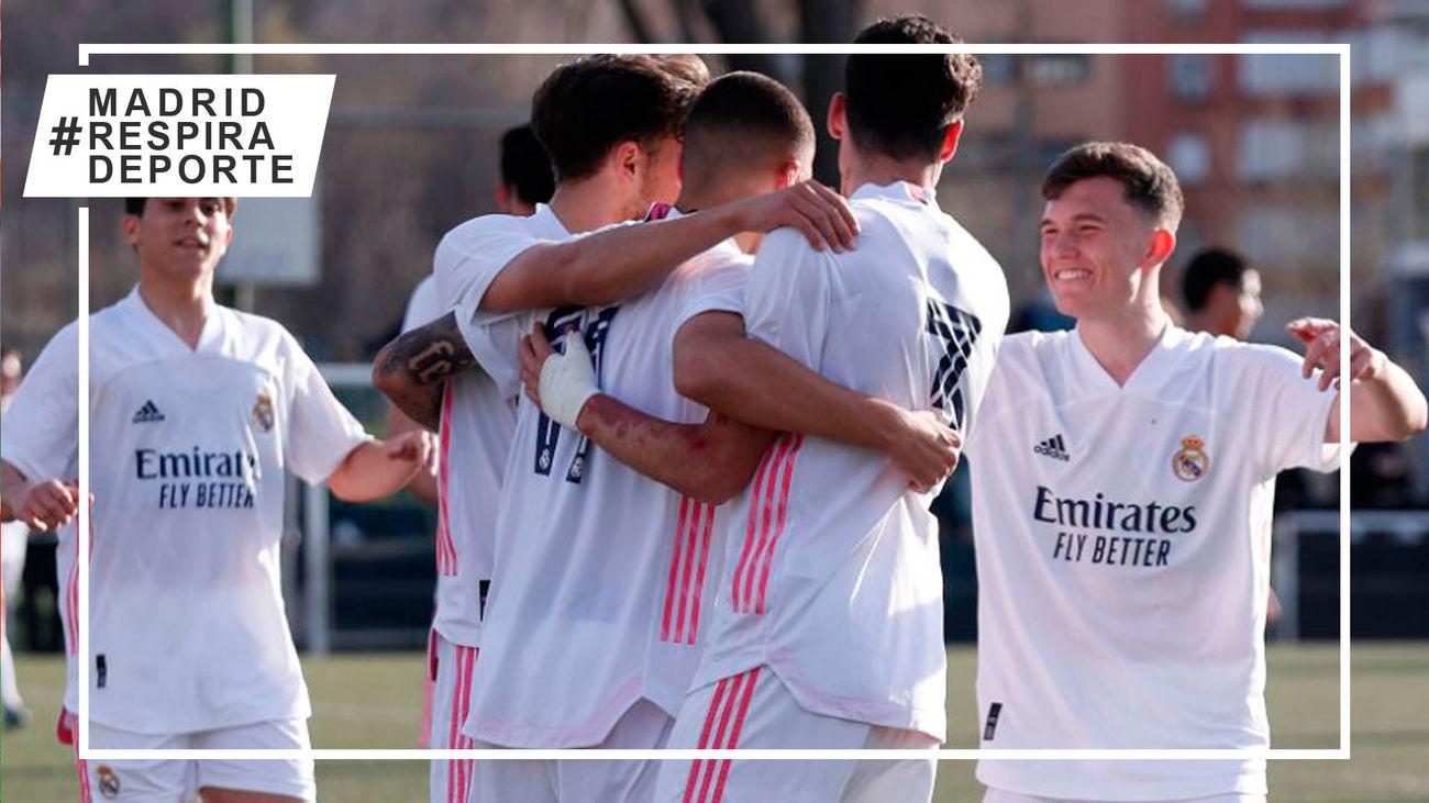 El Real Madrid Juvenil A, campeón del Subgrupo A del Grupo V de la División de Honor