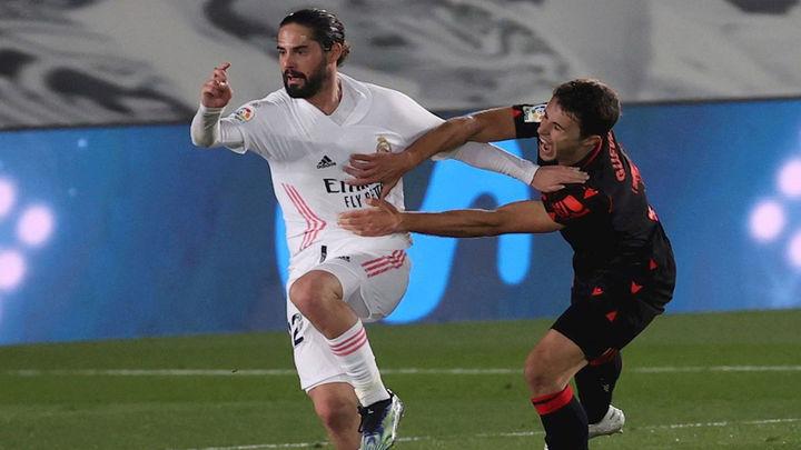 1-1. La Real Sociedad frena la remontada del Real Madrid