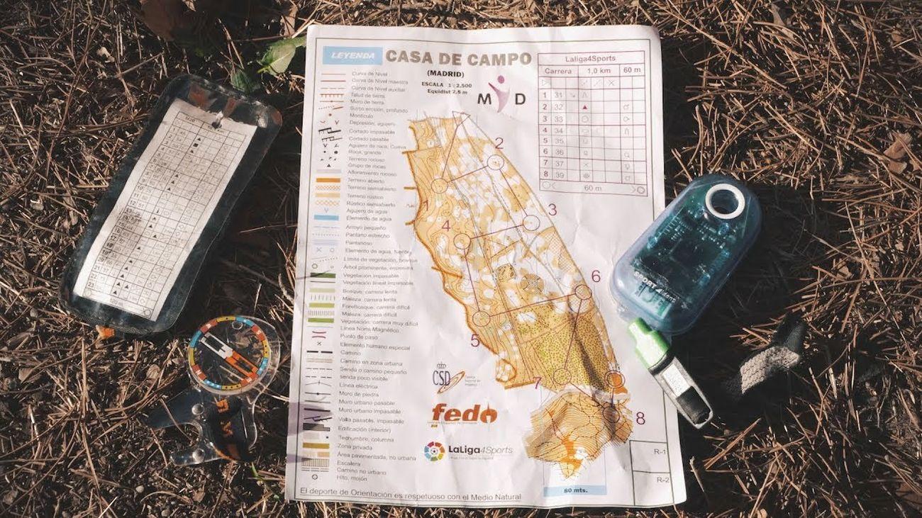 Material para practicar la orientación en la Naturaleza