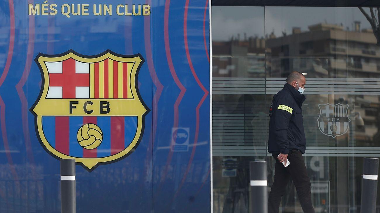 Detenido el expresidente del Barcelona Josep María Bartomeu