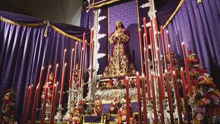 Comienza el solemne y tradicional Quinario en honor de Jesús 'El Pobre'